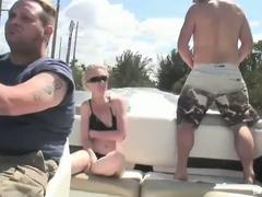 Lewd blonde bombshell scarlett summers outdoor fucking adventure