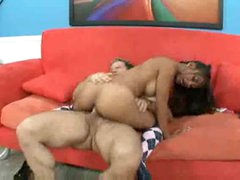 Beautiful Latin chick with taut body fuck and facial