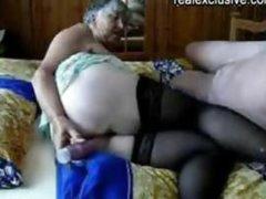 Old man And Grandma (75 Years )