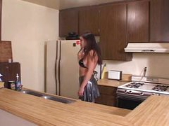 Slutty Wife Fucked in the Kitchen