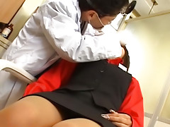 Enchanting juvenile asian sucks large dick