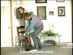 Ninette&Adrian lascivious nylon movie scene