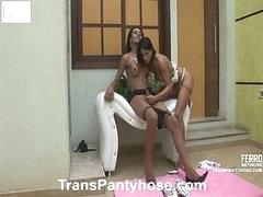 Luana&Claudio ladyman hose act