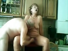 Old pair still like to have loads of fun in their sex life which u can see in this private porn movie. She gets licked and drilled in her old slit whilst he pleasures his old cock.