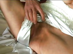 Inci is an incredibly hawt granny who loves getting dirty. This babe fingers her granny wet crack as fast as her old fingers can move. Then she puts her wrinkly lips on Libor's dick and sucks him off until that guy squirts his semen.