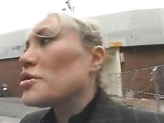 Young Fellow Tempt A Busty Mamma In The Street And Fuck Her