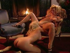 Amber Lynn with hot young golden-haired